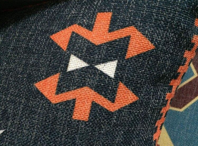 Katoen linnen kelim geometrische kussenhoes bohemen vintage