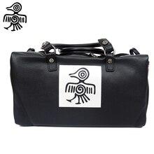 Sunbird Luggage Bag Genuine Leather Travelling bag larger Capacity Unisex Top handle shoulder Casual Tote handbag