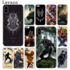 MOGADISCIO Coque Black Panther Marvel Comics Coque de Telephone pour Apple iPhone 6 6 s 7 8 Plus 4 4S 5 5S SE 5C Couverture pour iPhone XS Max XR
