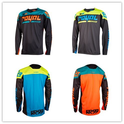 New Royal racing Victory Race Jersey MX MTB Off Road Mountain Bike DH Bicycle