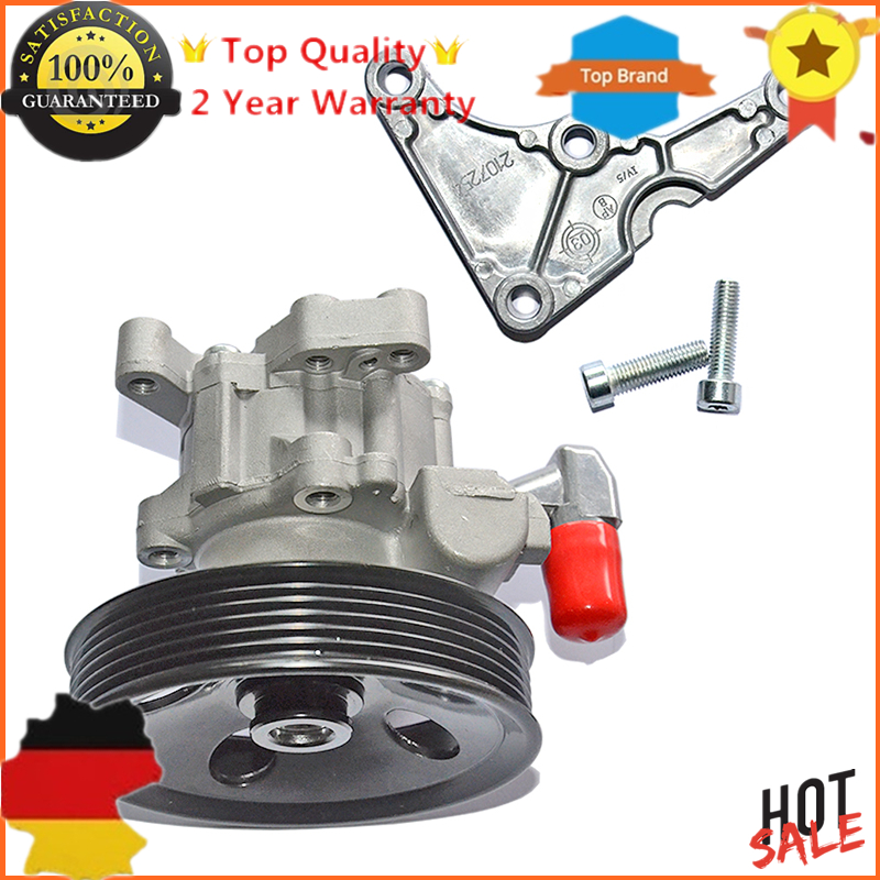AP02 New 0024669701 Power Steering Pump With Bracket For Mercedes C,E,M CLASS CLK SLK 280 320 350 430 M112 E320 E55 AMG