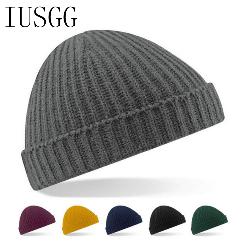 Candy Color Warm Winter Spring Warm Reversible Crochet Ski Beanie Hat for Women Men Knit Baggy Skullies Cap Bonnet Gorros Mujer 2016 fashin reversible skullies