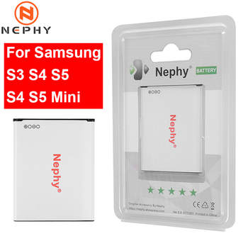 Oryginalny telefon bateria do samsunga galaxy S3 i9300 i9060 i9082 R530/S4 i9500 i9505 Grand 2/S5 aktywnych G900 i9600/S4 S5 Mini
