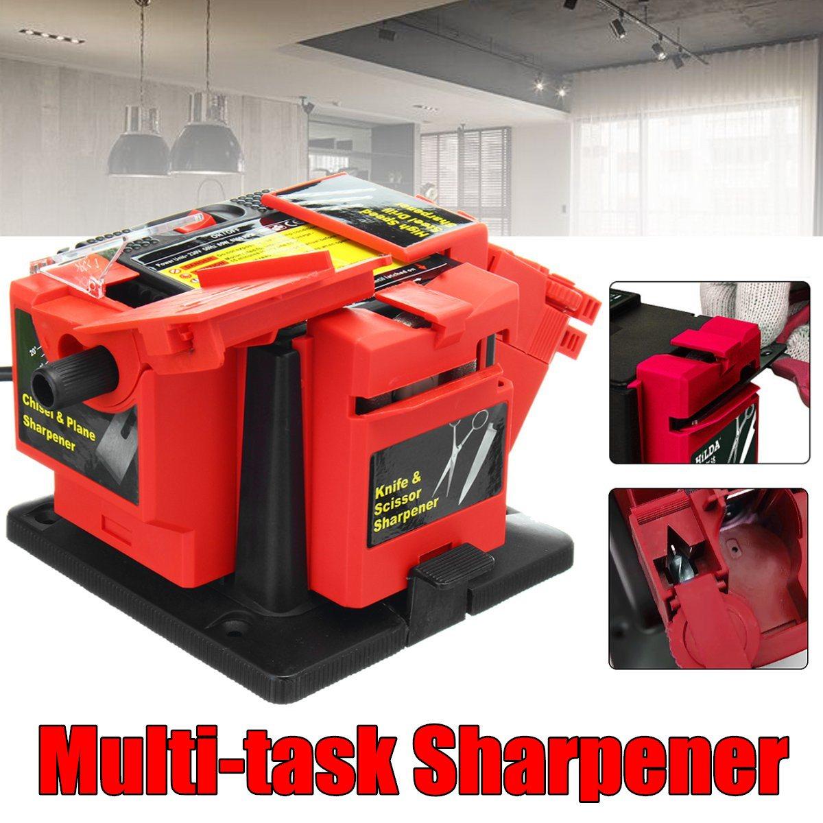 220V Electric Household Sharpener Tool Drill Bit Knife Scissor Sharpener Grinder цены