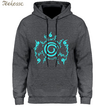 Anime Hoodie Naruto Sweatshirts Night Lights Luminous Fashio