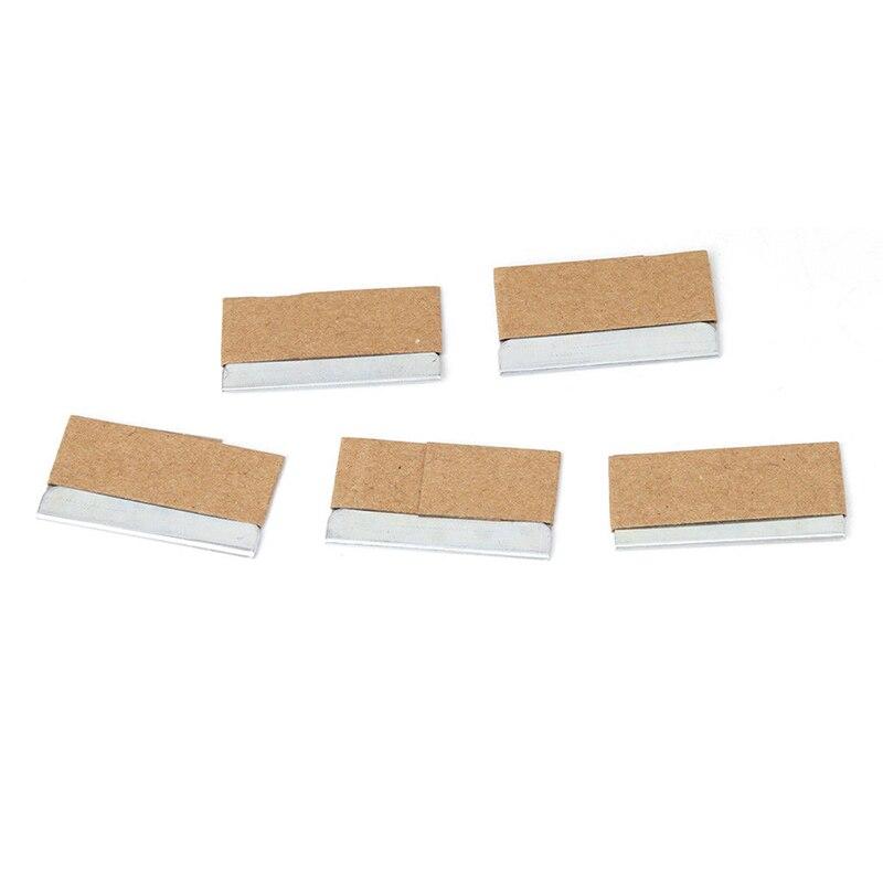 5/30 Pcs Stainless Steel Blades Ceramic Glass Window Tinting Razor Scraper Metal