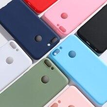 Huawei P Smart Case TPU Soft Silicone Candy Back Cover Phone Case For Huawei P Smart Cover FIG-LX1 P Smart Bumper Case 5.65'' все цены