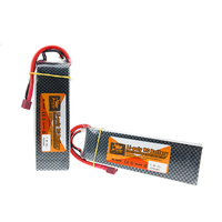 ZOP 7.4V 6000MAH 25C 2S TPlug Lipo Battery For RC Drone Models Helicopters Airplanes Cars Boat Batteria