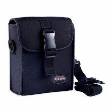 EYESKEY Камера бинокулярный чехол для 50 мм бинокль сумка одно плечо черный ремень Водонепроницаемый бинокулярный контейнер