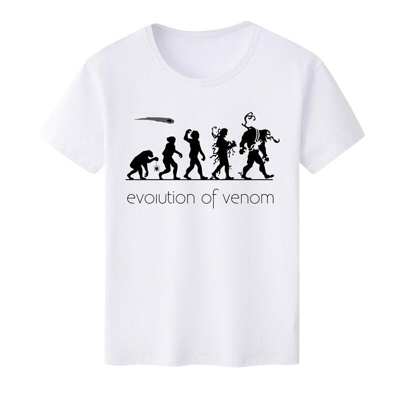 2019 Summer New Fashion Mens T Shirt for EVOLUTION of Venom O-Neck Printed Casual T-shirt Short Sleeve TShirts