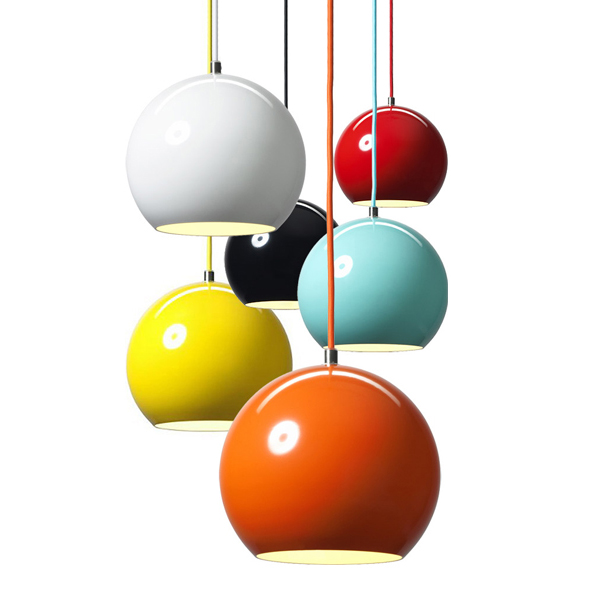 1pc Color ball type Lamp Art Creative Personality clothing store study Pendant Lights bedroom bedside lamp single headlights ZA personalized clothing store track lamp