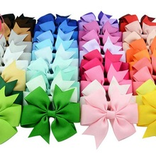 10pcs Large dog bows Alloy Clip Dot Designs Big dog hair bows for holidays pet d