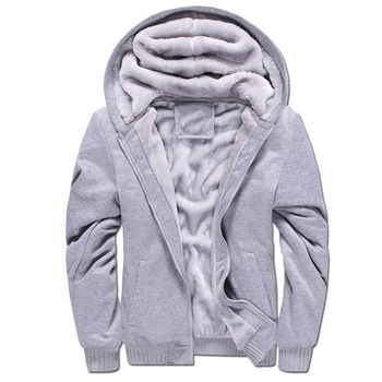 LEFT ROM 2018 fashion men New style Pure color thickening hoodies coat male leisure Pure cotton slim fit Long sleeve jerseys