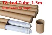 100pcs Lot Free Shipping T8 Led Tube 1500mm 1 5M 150cm 5ft G13 25W 132PCS 2835