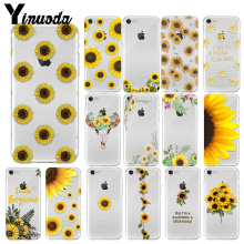 Yinuoda sunflower daisy Customer High Quality Phone Case for iPhone 7 7plus X XS MAX 6 6S 8 8Plus 5 5S XR bar pumpable wine bottle stopper vacuum red wine cap sealer fresh keeper bar tools bottle cover wine accessories
