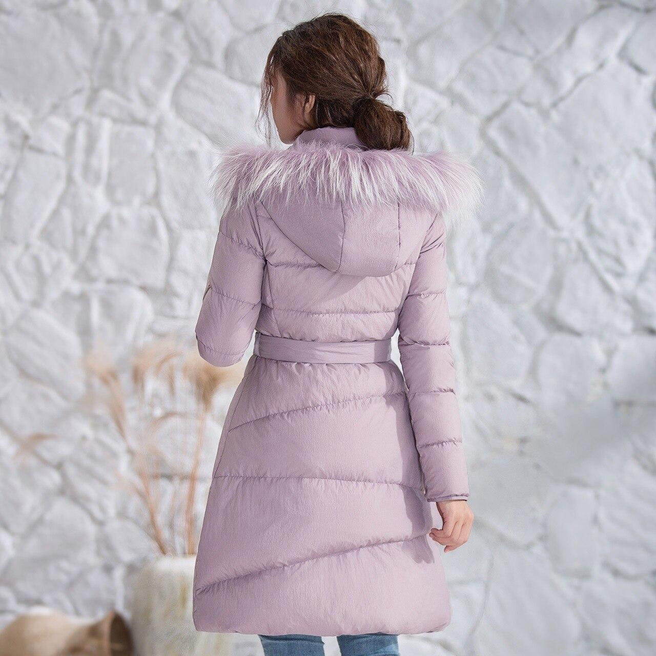 Pardessus 3xl Ajustement Pourpre Filles La Nouveau Femmes Bas Plus Frais D'hiver Vers Manteaux Coton Laçage Canard Veste Dames Chaud Mode Simple Le Taille w1RHqB