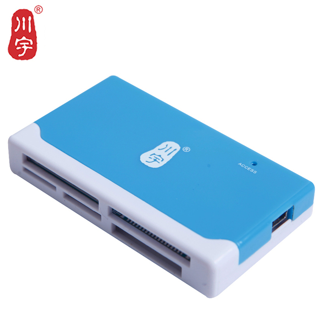 Best Price Kawau Microsd Card Reader 2.0 USB Adapter with TF SD CF MS M2 XD Card Slot C236 Support Max512GB Memory Card Reader for Computer