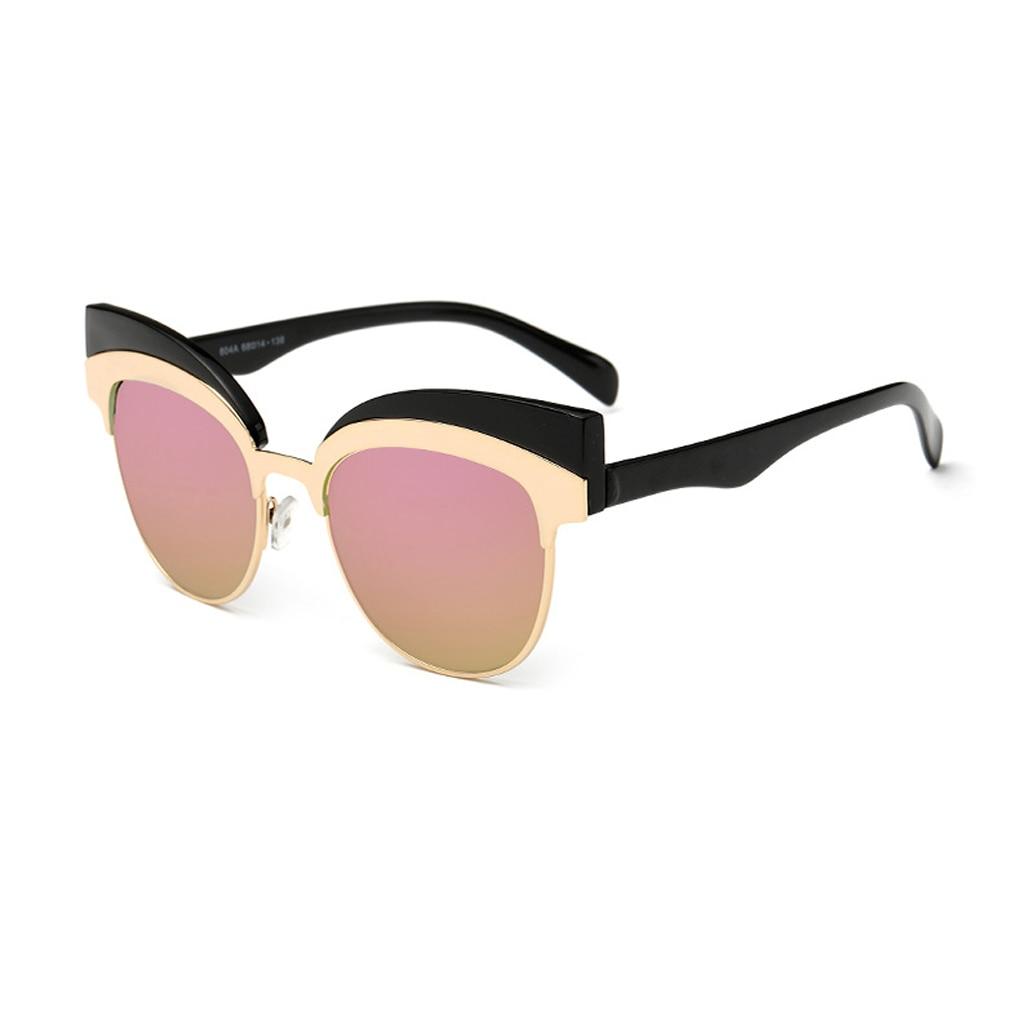 PC + Frame Da Liga de Óculos De Sol UV400 óculos de proteção Óculos de  Lente gradiente Óculos de Sol Para As Mulheres 9bfe9a1685
