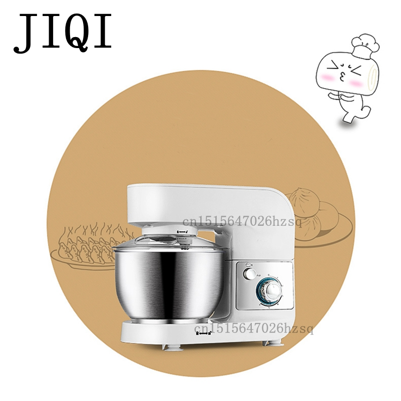 JIQI Household electric Stand mixer cake egg dough bread mixer  machine Food mixers 220V 600W km 8 electric 6l chef home kitchen cooking stand cake food egg machine pasta mixer bread 220v 50 hz 1200 w food mixers