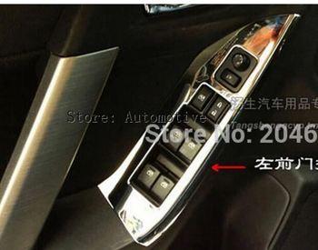 ABS Kol Dayama ayar kapağı iç çerçeve dekorasyon 4 adet için 2013 2014 2015 2016 2017 Subaru Forester için oto aksesuarları