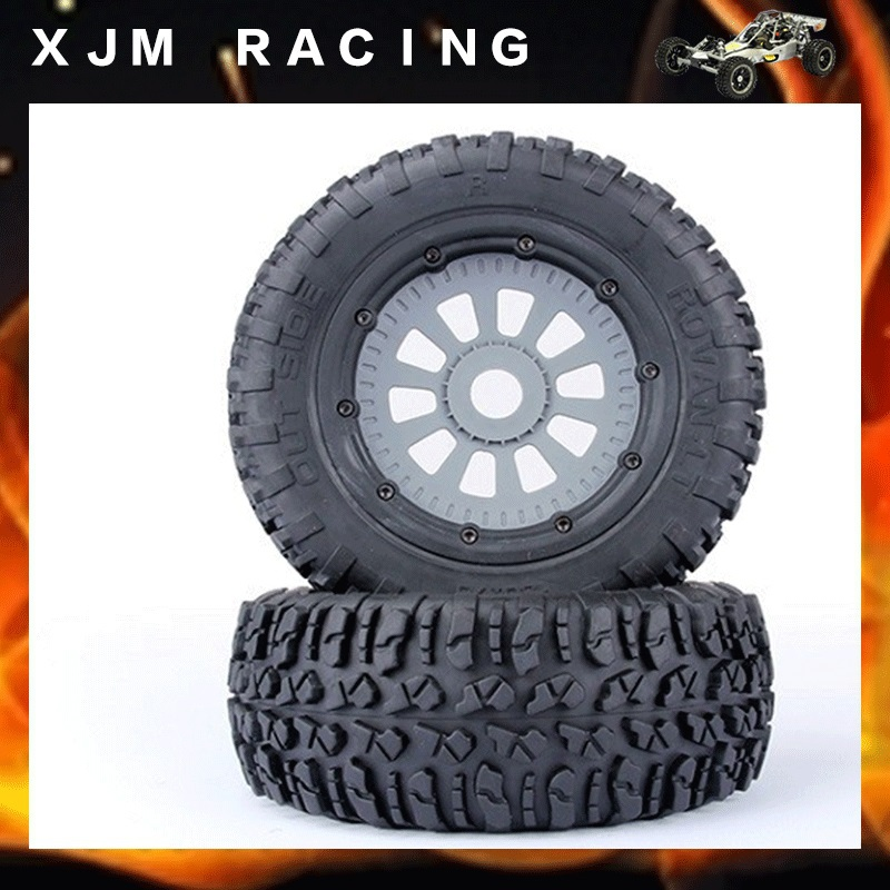 LT Wheels tyre x 2pcs for 1/5 scale losi 5T parts losi parts losi tire 2pcs x tyres and wheels for losi 5ive t