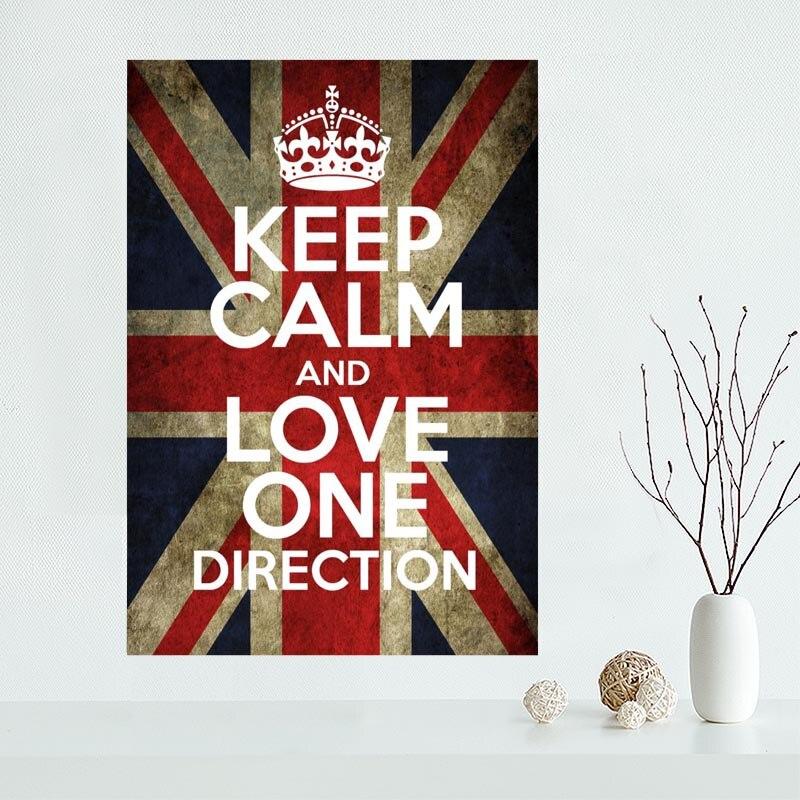 Лидер продаж пользовательские Keep Calm and Carry On Холст плакат домашнего декора Плакат печати творческий росписи искусства более Размеры best пода... ...