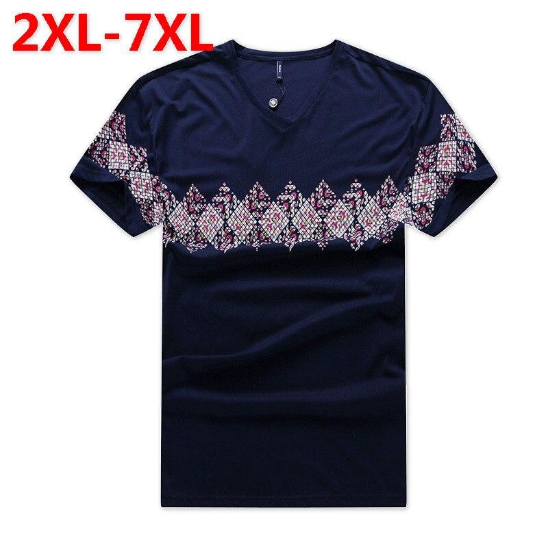 2018 nouvelle grande taille 9XL 8XL 7XL 6XL mode hommes d'été marque coton t-shirt hommes palace manches courtes loisirs 3d imprimé t-shirts