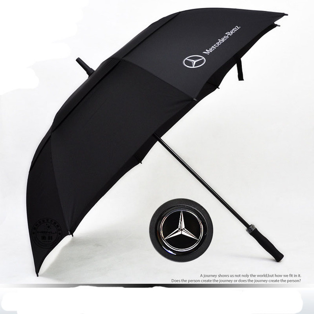 88a0abcc7f72 US $44.85 |2 color sale 2016 Brand Golf Car Logo Umbrella Rain Men Women  Parasol sun Umbrella Windproof Ultraviolet Ray Umbrella-in Umbrellas from  ...
