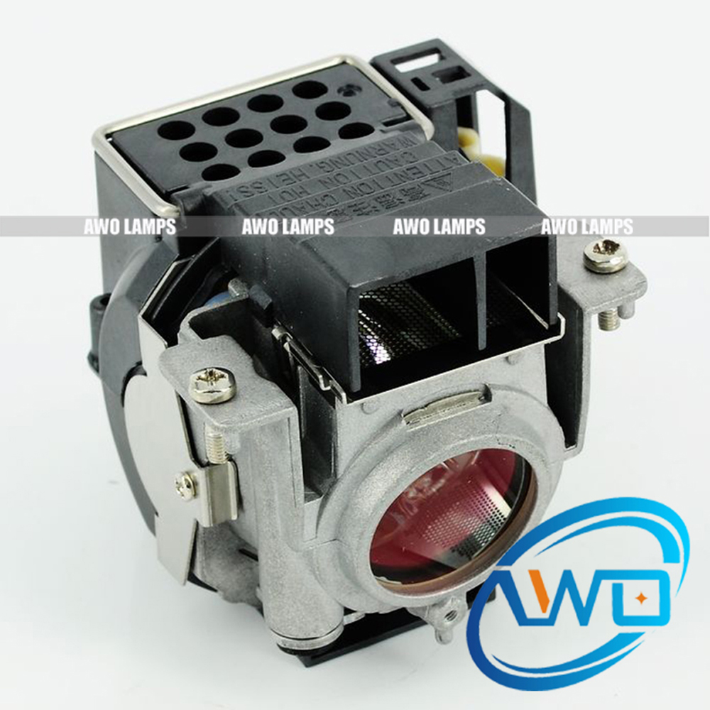 180 Day Warranty AWO Original NP08LP Projector Lamp UHP200W with Housing for NEC NP41/NP43/NP52 uhp330 264w original projector lamp with housing np06lp for nec np 1150 np1250