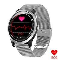 ECG Smart Watch Sports Bracelet Heart Rate Blood Pressure Watch Health Wristband IP67 Waterproof Band for Samsung Huawei xiaomi