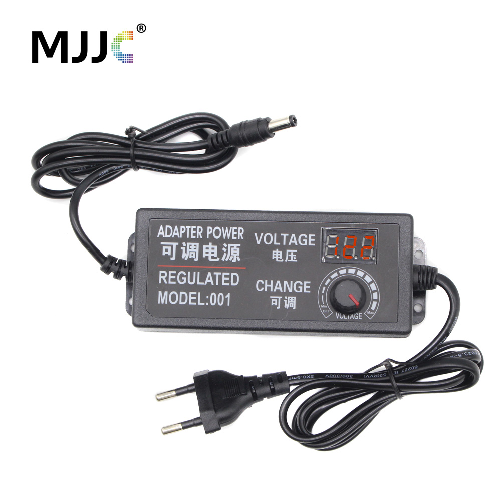 Transformer Power Supply AC 110V 220V to DC 12V <font><b>3V</b></font> 5V 24V Adjustable Regulated Adapter with Display 3A <font><b>LED</b></font> <font><b>Driver</b></font> for <font><b>LED</b></font> Strip image