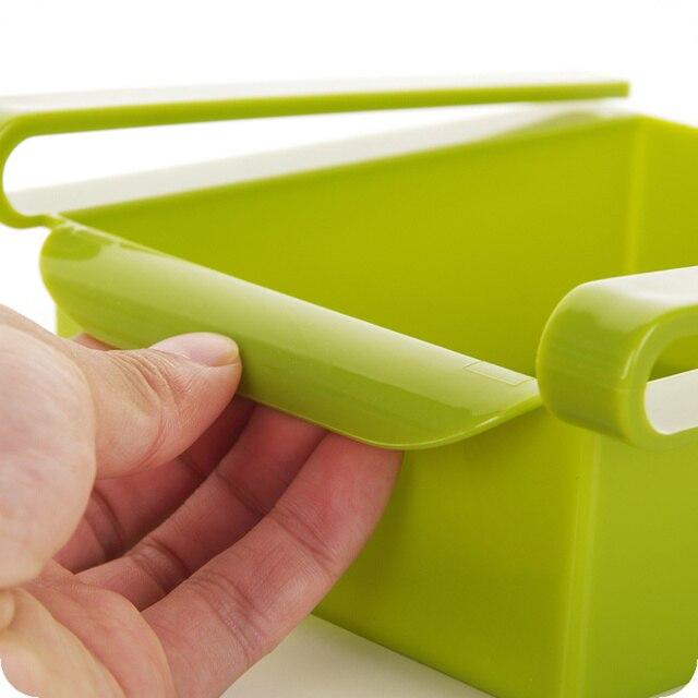 Réfrigérateur 2 pièces, tiroirs épais en plastique, boîte de rangement pour réfrigérateur, conteneur daliments, fruits, bonbons, gain despace de bureau, organisateur de cuisine