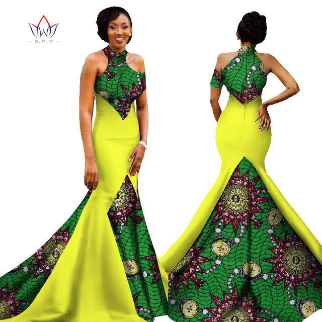 Mermaid African Dress