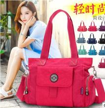 Best-selling waterproof nylon bag with one shoulder inclined pikde handbag lady for studentsChristmas birthday schoolbag