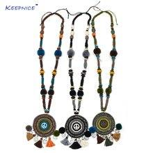 Новое богемное ожерелье ручной работы в стиле бохо шикарное