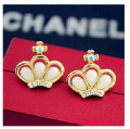 E640 New gt Brincos Earing Boucle Bijoux Crown Stud Earrings For Women Wedding Earings Girl Jewelry One Direction Accessories