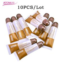 10pcs/pack A+D Vitamin Ointment Tattoo Aftercare Cream Eyebrow Lips Permanent Markup Repair Tattoo Tool