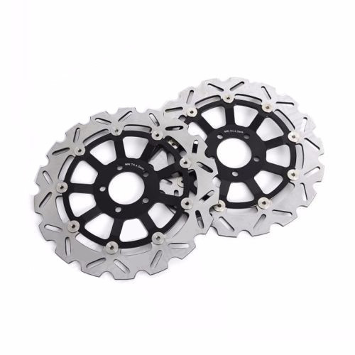 Motorcycle Front Rotor Brake Disc For Kawasaki ZR 1100 B1 Zephyr 1996-1997 ZZR 1100 C1-C3 1990-1992 ZRX 1100 C1-C4 1997-2000  new motorcycle front rotor brake disc for kawasaki zr 7 zr 7s zr750 zzr600 z750s gtr1000 zg1000 z1000 zr1000 gpz1100 non abs