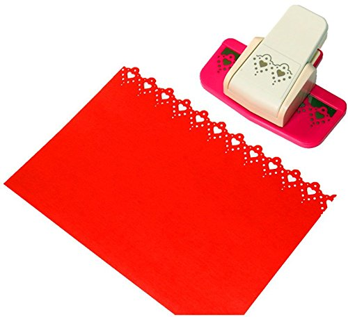 CADY Craft Punch Success Tools Edger Punch, Scroll Pattern,Extra Large,Tools Edge Paper Punch (8722-6)