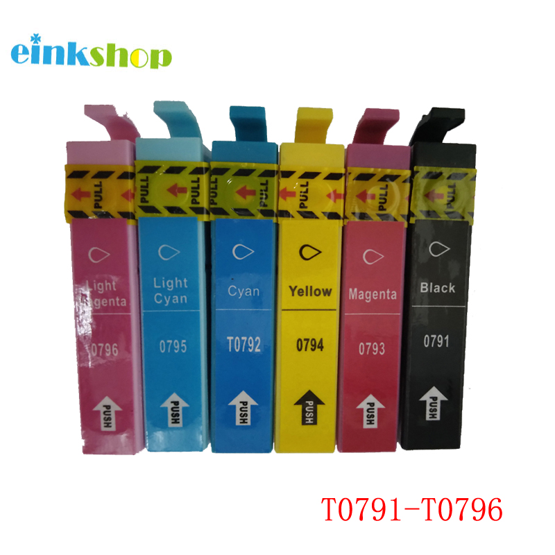 T0791 Ink Cartridge For Epson Stylus Photo PX660 P50 PX650 PX700W PX710W PX720WD PX730WD PX810FW 1400