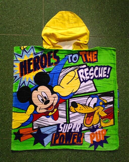 Cartoon Hooded Towel