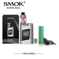 Original E Cigarettes SMOK Alien Baby Starter Kit Al85 85W Box Mod Kit 3ml TFV8 Baby