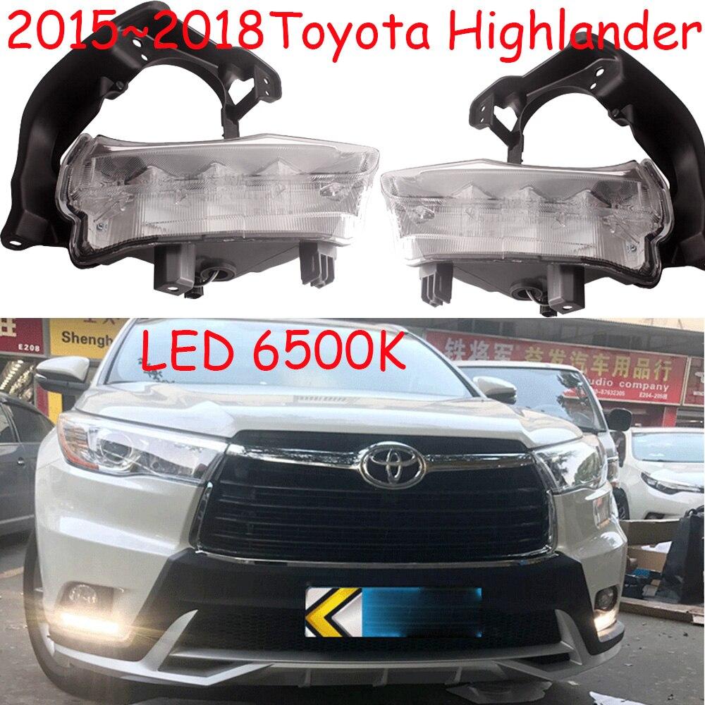 LED,2015~2018 Highlander daytime Light,Highlander fog light,Highland headlight;corolla,camry,Hiace,sienna,yaris,High lander