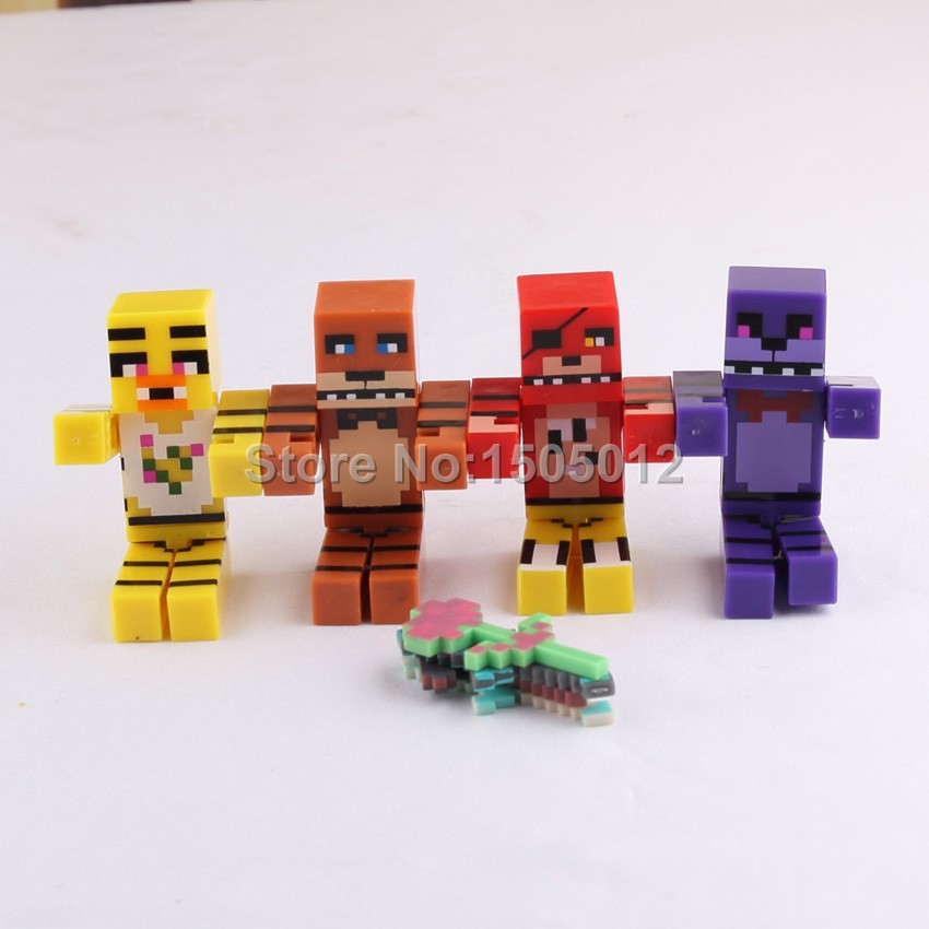 Minecraft Toy Freddy : Minecraft toy figures pixshark images