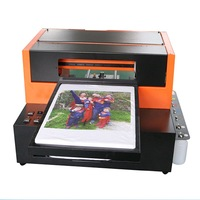 A3 Size 6 Color DTG Printer T Shirt Printer Garment Printer