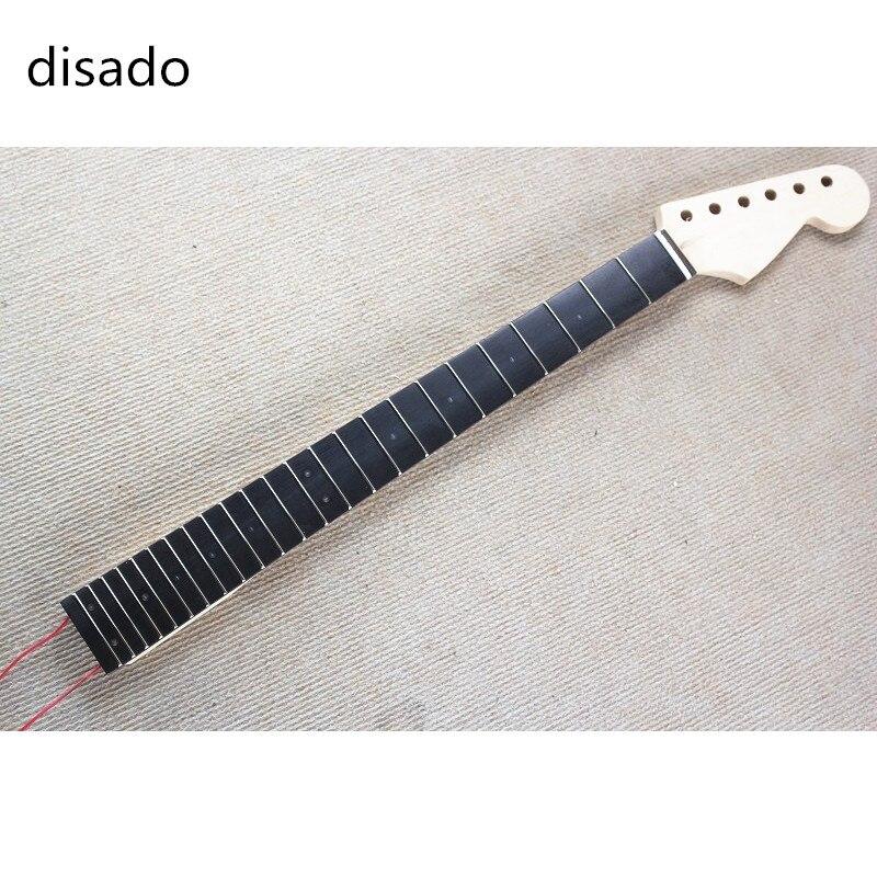 Disado incrustation LED points palissandre Fretboard érable guitare électrique cou guitare accessoires pièces guitarra instruments de musique