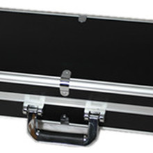 Черный металлический чехол для скрипки, размер 4/4, алюминиевый сплав, чехол для скрипки, серебристый цвет на выбор