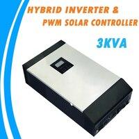 3KVA чистая синусоида гибридный солнечный инвертор Встроенный ШИМ Контроллер заряда для домашнего использования PS 3K