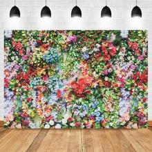 NeoBack Vinyl Children Kids Flower Photo Backdrops Weending Floral Wall Photography Background neoback children kids photographic background photo studio vinyl cloth printed fishnet photo backdrops 150x220cm a1284