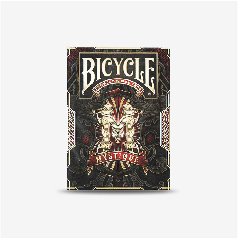 1 deck bicycle mystique playing cards limited edition